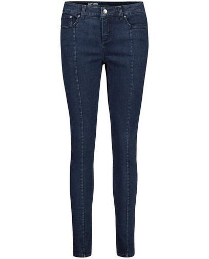 Donkerblauwe skinny jeans